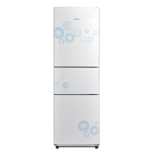 冰箱 206升三门三温 静音省电 BCD-206TM(E)悦动白