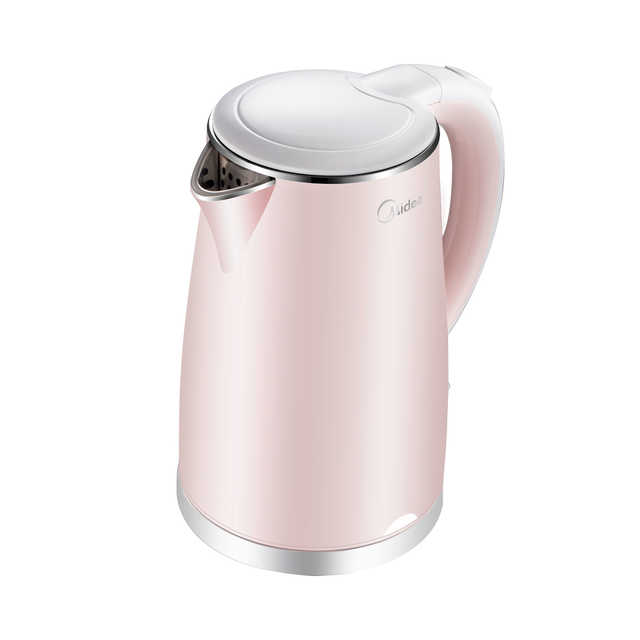 【热销款】电水壶 1.7L双层防烫 食品级不锈钢 高效控温 WHJ1705b